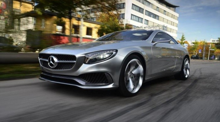 Mercedes-Benz Concept S-Class Coupe Driven by Auto Express