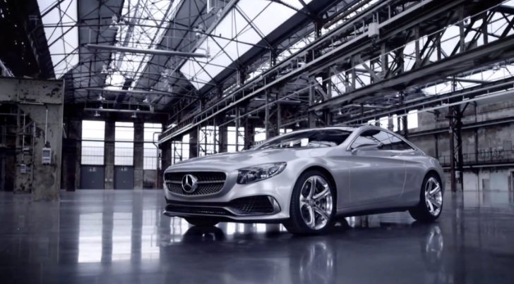 Mercedes-Benz Concept S-Class Coupe is Gorgeous [Video]