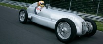 Mercedes-Benz Creates the Largest Historical Display of Silver Arrows