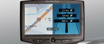 Mercedes-Benz Debuts New Navigation System for Trucks