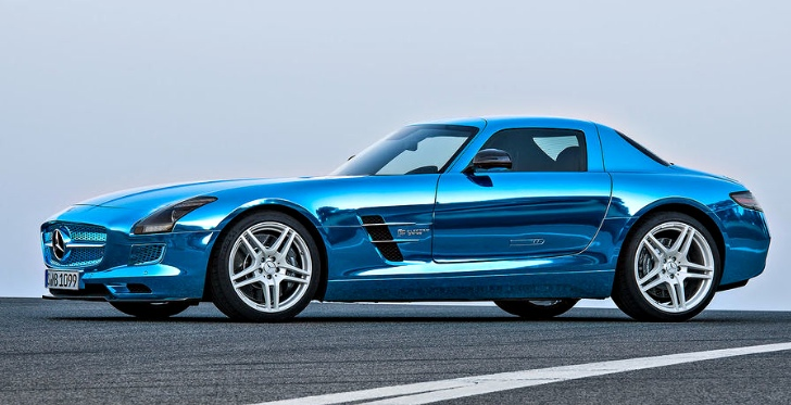 Mercedes benz details sls amg electric drive along with for Mercedes benz sls price