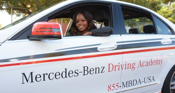 Mercedes benz driving academy joins forces with california for Mercedes benz driving school los angeles