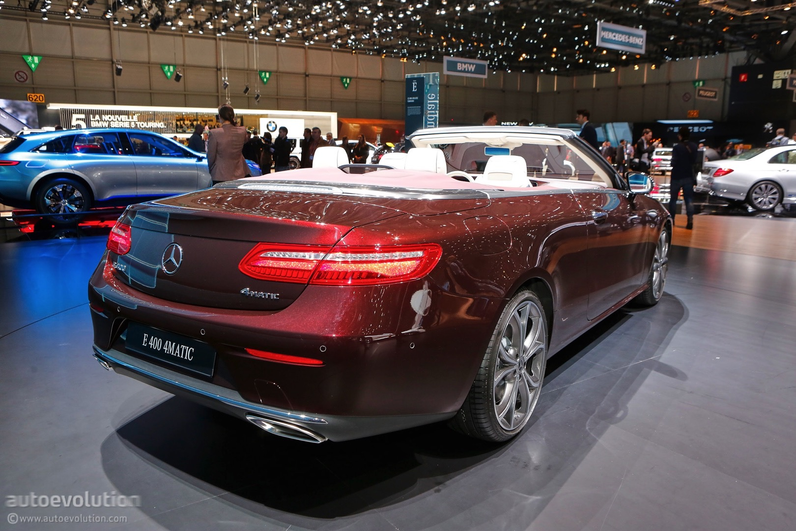 Mercedes benz e class goes topless at the 2017 geneva - Mercedes car show ...