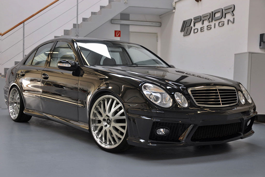 mercedes benz e klasse w211 by prior design autoevolution. Black Bedroom Furniture Sets. Home Design Ideas