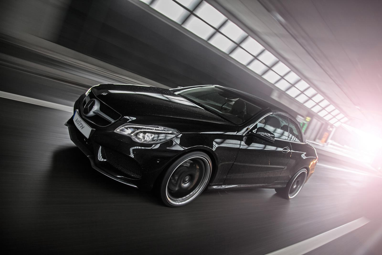 Mercedes benz e500 cabriolet receives 550 hp from vath for 500 hp mercedes benz
