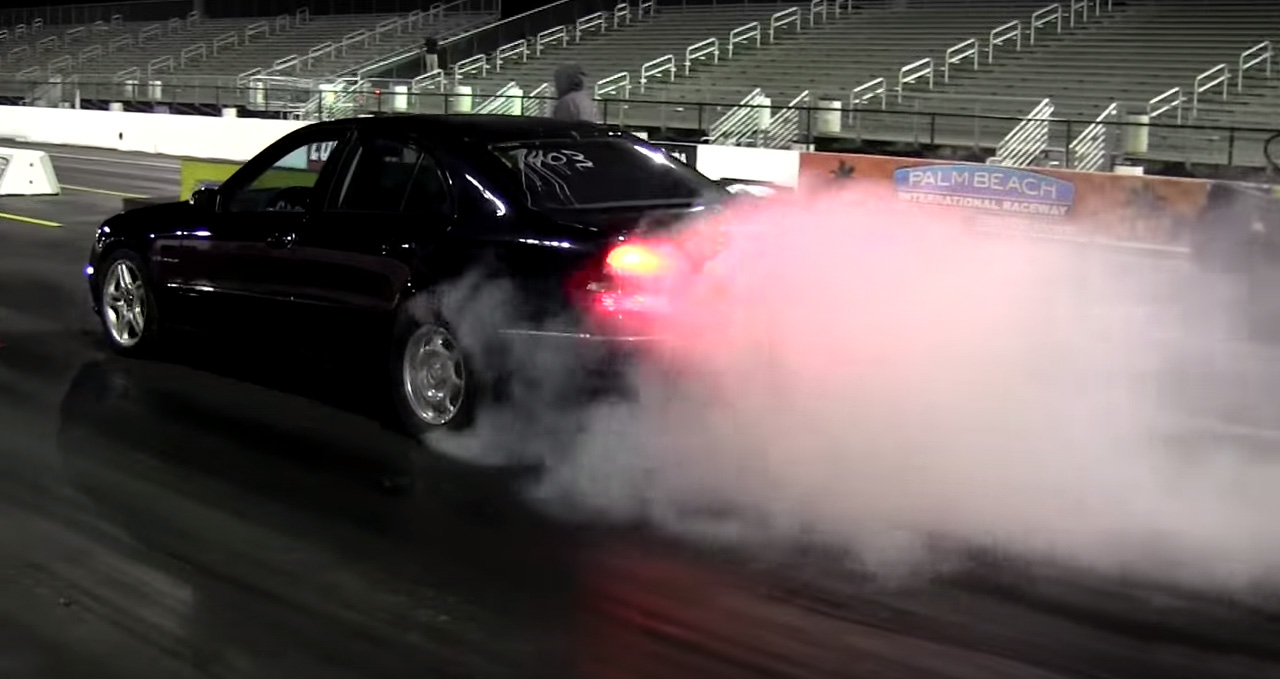 Mercedes-Benz E55 AMG Proves You Should Be Careful Who You Challenge
