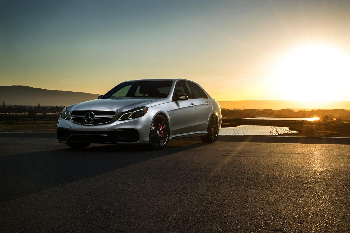 Mercedes Benz E63 Amg Gets Hre Performance Wheels