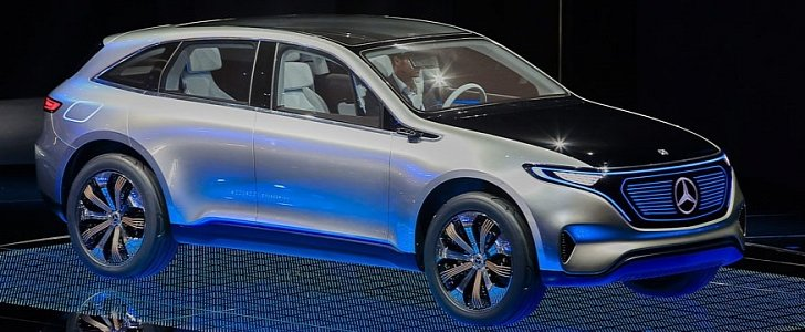 Mercedes benz 39 s eq range what will come after the for New electric mercedes benz