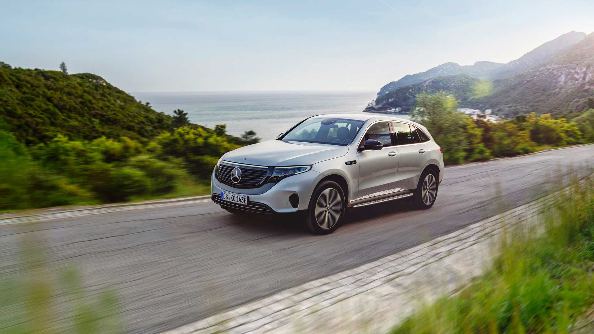 Mercedes Benz Eqc Edition 1886 Arriving In North America In 2020 Autoevolution