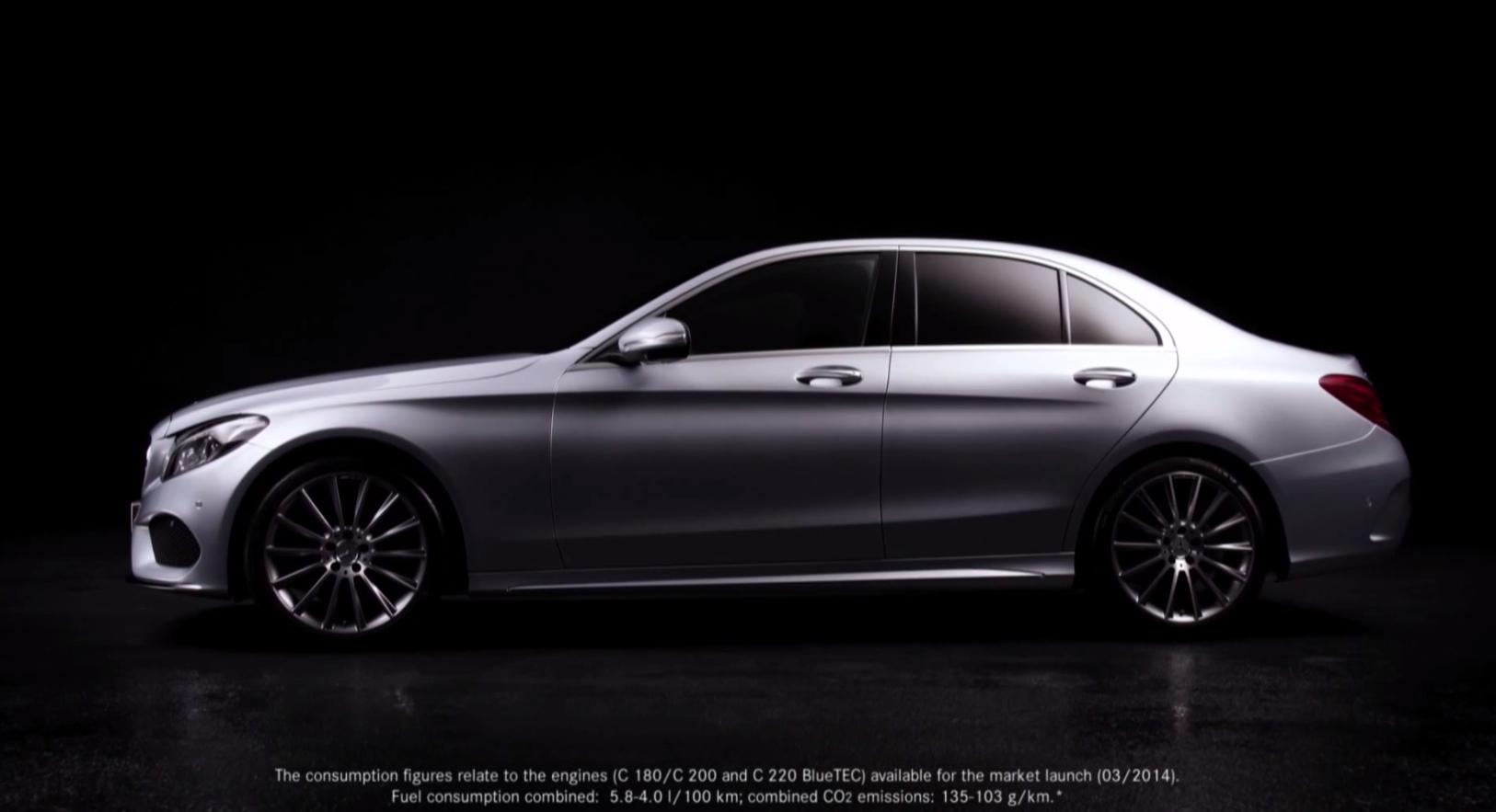 Mercedes benz explains the c class w205 design autoevolution for Mercedes benz w205