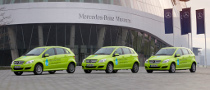 Mercedes-Benz F-Cell Goes Around the World in 125 Days
