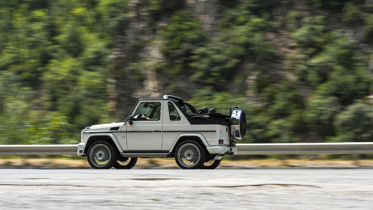 Mercedes-Benz G 500 Cabriolet Tested by autoevolution