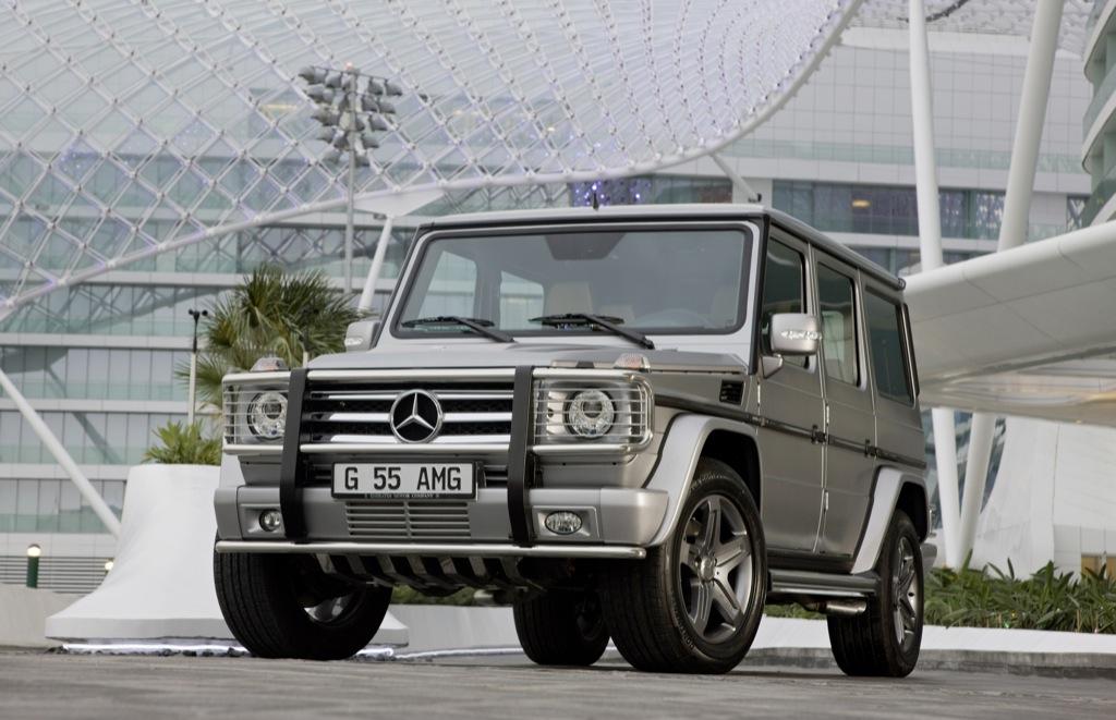 Mercedes Benz G 55 Amg Kompressor Quot Edition 79 Quot Unveiled In Dubai Autoevolution