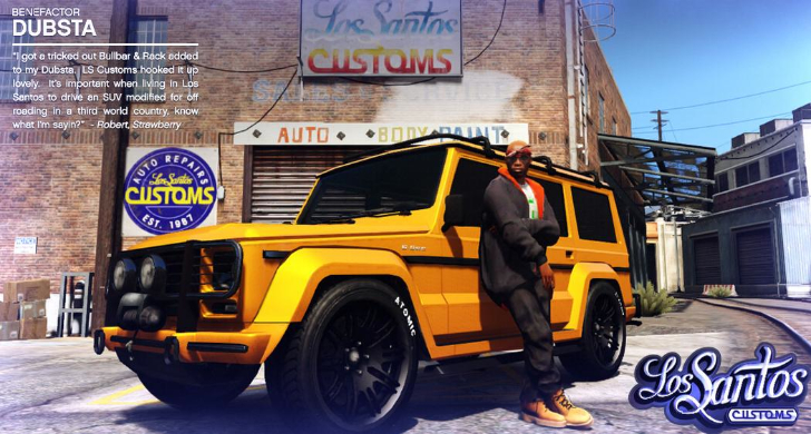 Mercedes-Benz G-Class Gets Featured in GTA V