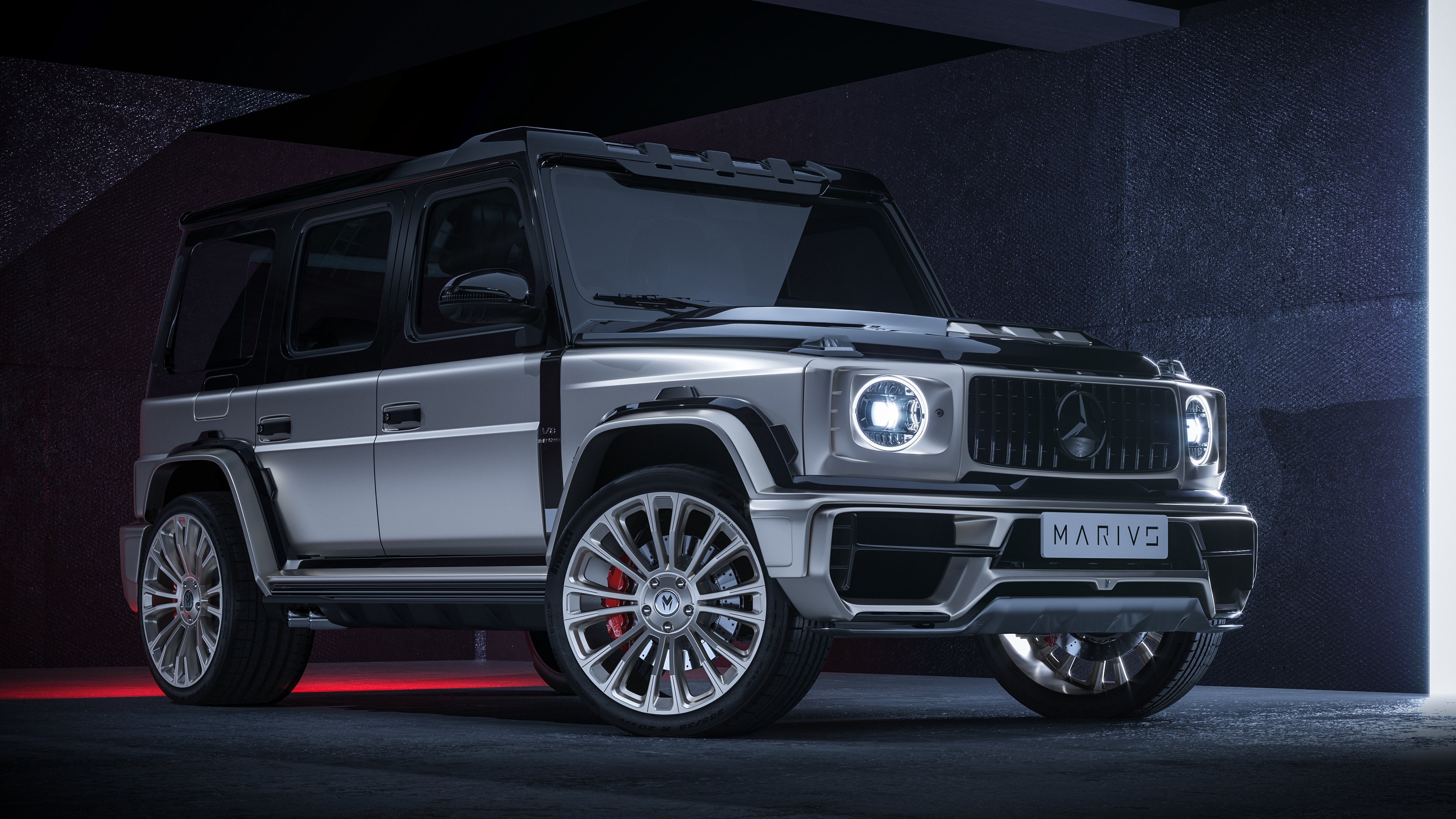 Mercedes Benz G Class Md2 Shows Bold Widebody Look Autoevolution