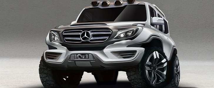 Mercedes-Benz G-Class Rendering Looks Ready to Go on a ...