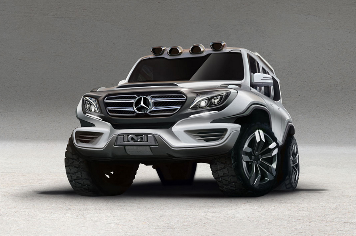Mercedes Benz G Class Rendering Looks Ready To Go On A Toys R Us