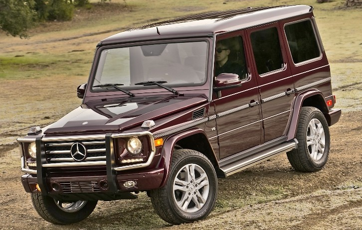 Mercedes benz g550 real suv review by autoweek for Mercedes benz g550 suv used