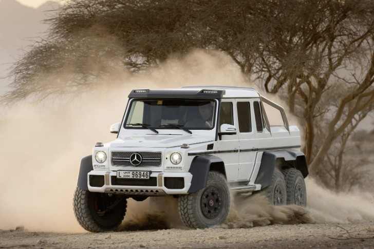 Mercedes Benz G63 AMG 6x6 for Sale!