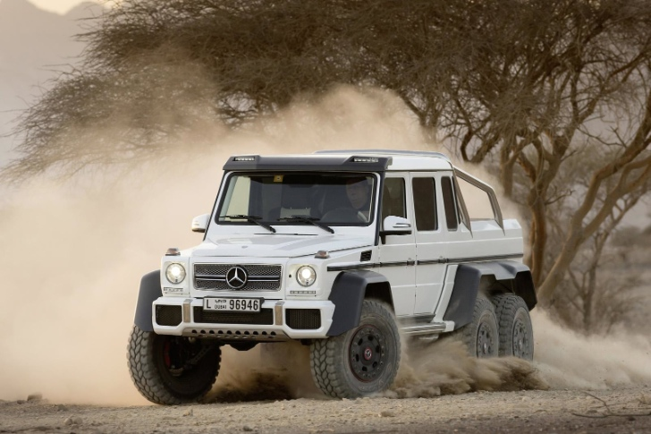 Mercedes benz g63 amg 6x6 for sale autoevolution for Mercedes benz g63 6x6 for sale