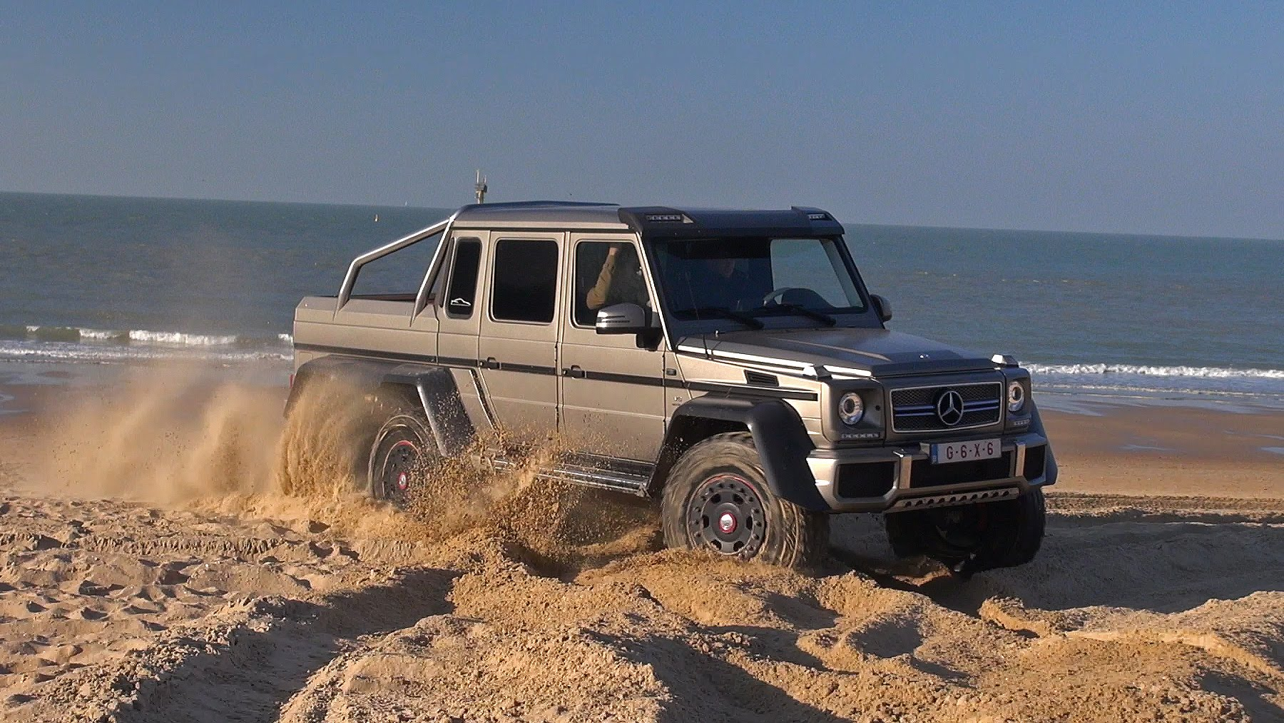 Mercedes benz g63 amg 6x6 in operation beach storm for Mercedes benz g63 6x6 amg