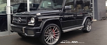 Mercedes-Benz G63 AMG Rides on ADV.1 Wheels [Photo Gallery]