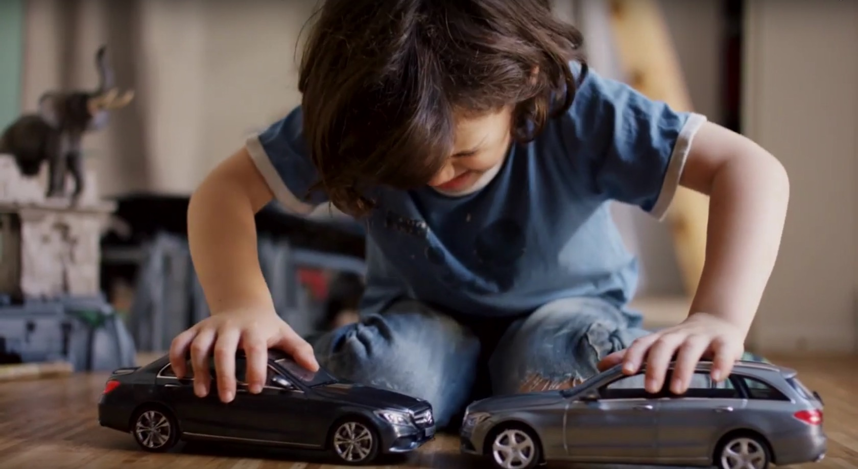 Mercedes Benz Gave Uncrashable Toy Cars To Kids And Their