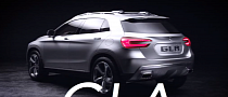 Mercedes-Benz GLA Concept: First Official Video [Video]