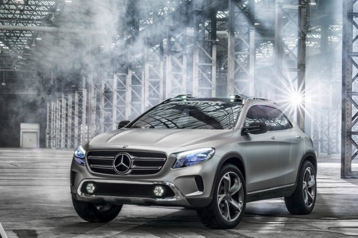 Mercedes-Benz GLA Concept Officially Revealed [Photo Gallery]