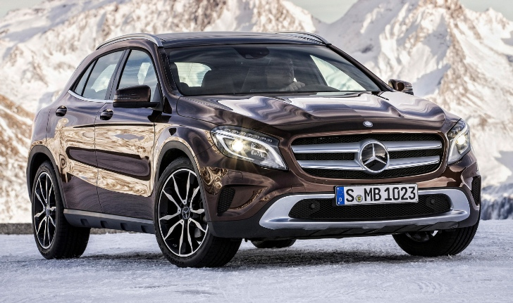 Mercedes benz gla crossover suv to be manufactured in for Mercedes benz utility vehicle