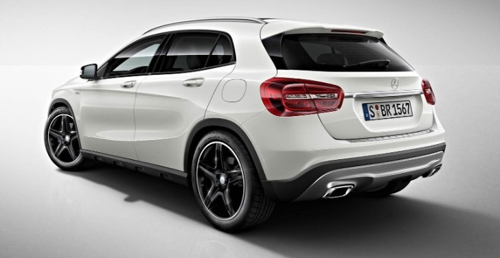 Mercedes-Benz GLA Edition 1 Launched