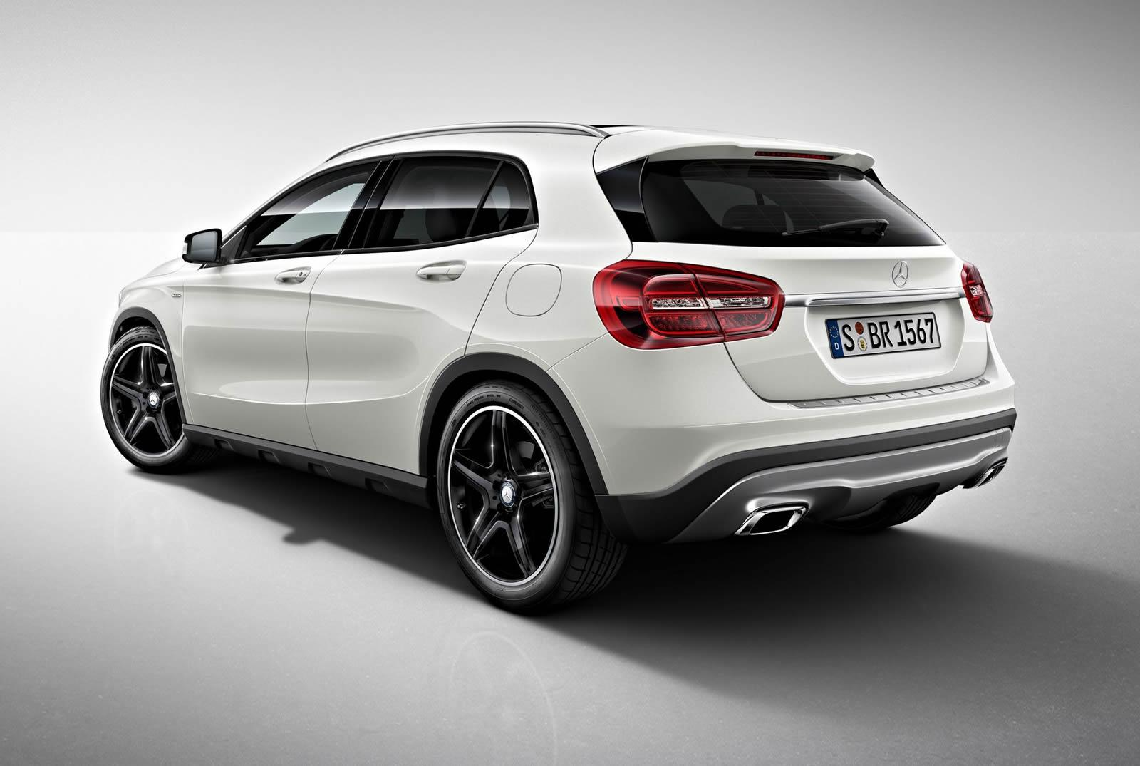 mercedes benz gla edition 1 launched autoevolution. Black Bedroom Furniture Sets. Home Design Ideas