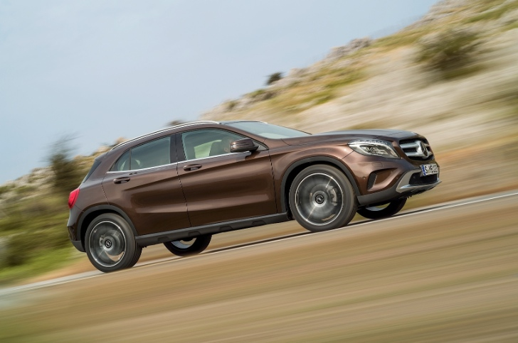 Mercedes-Benz GLA Official Photos and Specifications [Photo Gallery]
