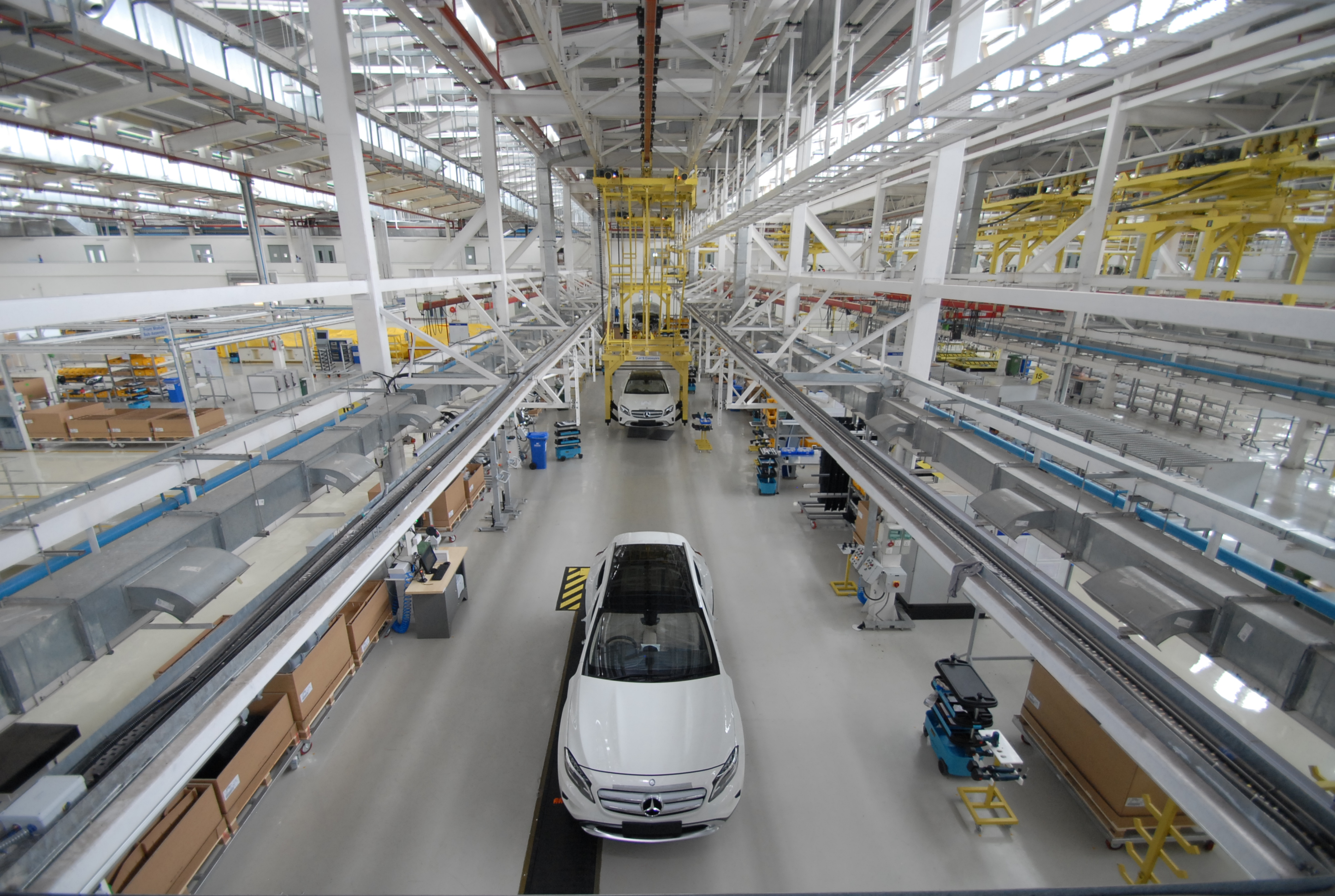 Mercedes Benz Gla Production Kicks Off In India Will Serve The Local Market