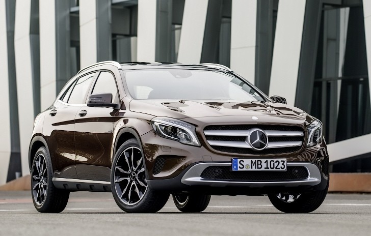 Mercedes-Benz GLA to Arrive in the US in Autumn 2014 [Photo Gallery]