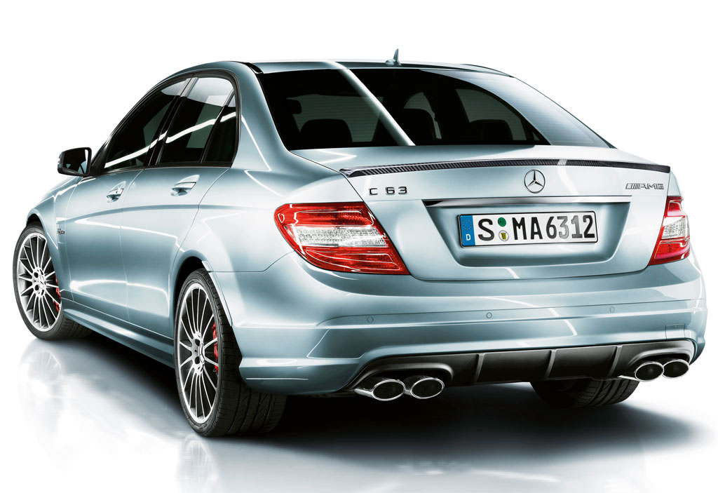 Mercedes benz introduces c63 amg with performance package for Mercedes benz packages