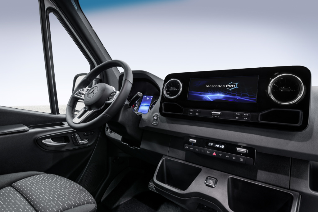 2019 Sprinter Interior >> 2019 Mercedes Benz Sprinter Proves Mb Can T Stop Making Beautiful
