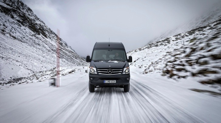 Mercedes-Benz Launches Hardcore Sprinter 4x4 Version [Photo Gallery]