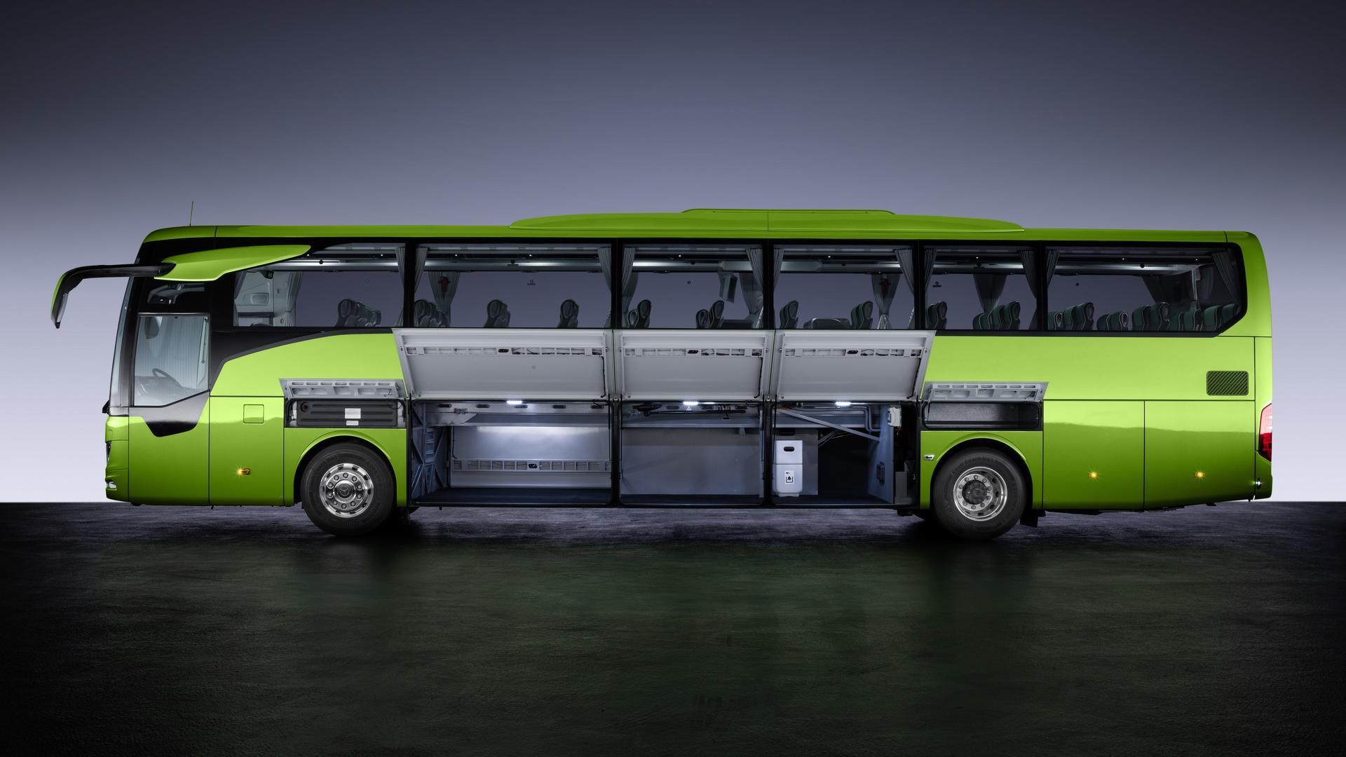 Mercedes Benz Modernizes Coach Lineup With All New