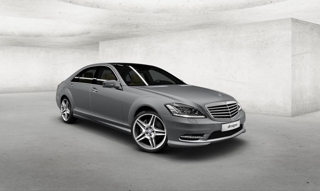 Mercedes benz offering factory matte paint autoevolution for Matte paint car