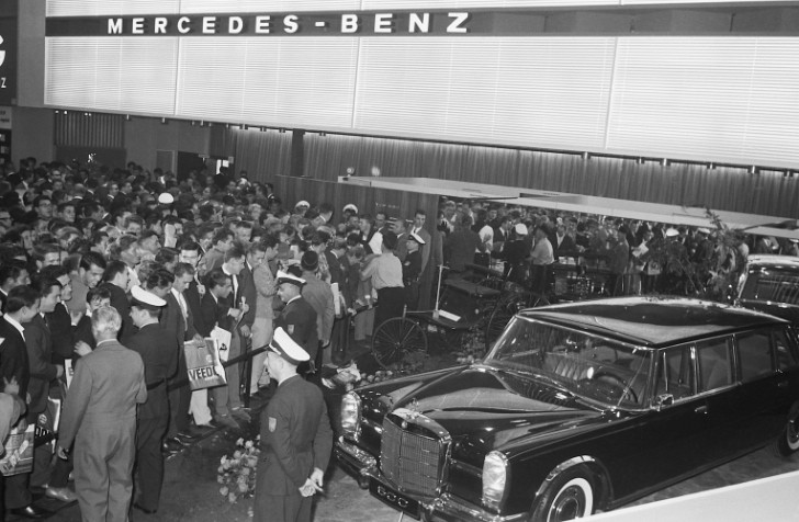 Mercedes-Benz Premieres at The Frankfurt Auto Show Over the Years [Photo Gallery]