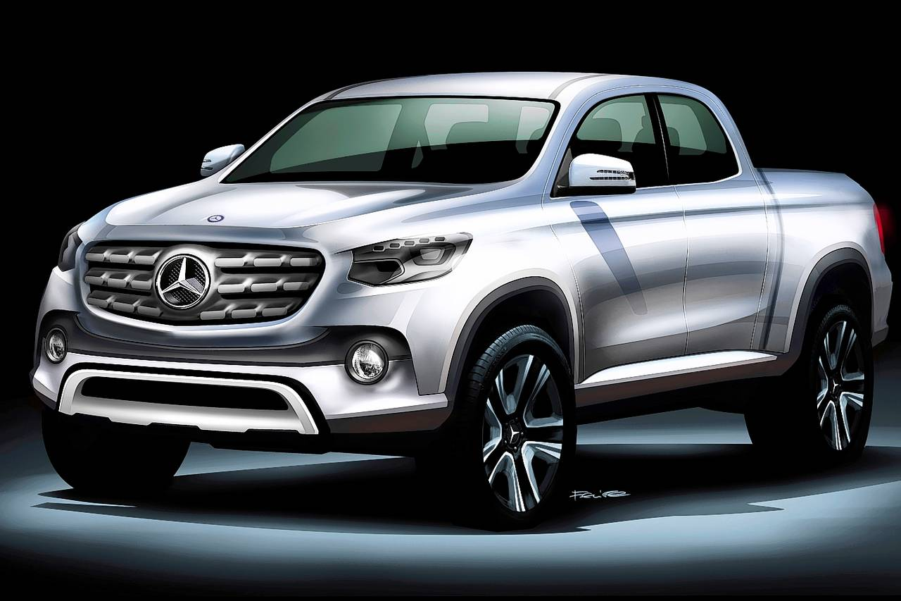Mercedes benz premium pickup truck officially confirmed for Mercedes benz pick up