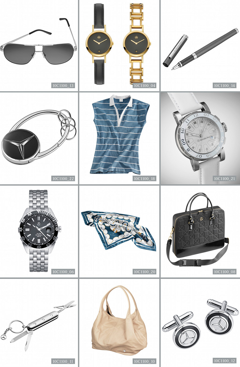 Mercedes benz presents new fashion and accessories for Mercedes benz acc