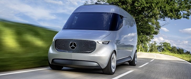 Mercedes Benz Presents Vision Van An Autonomous Electric