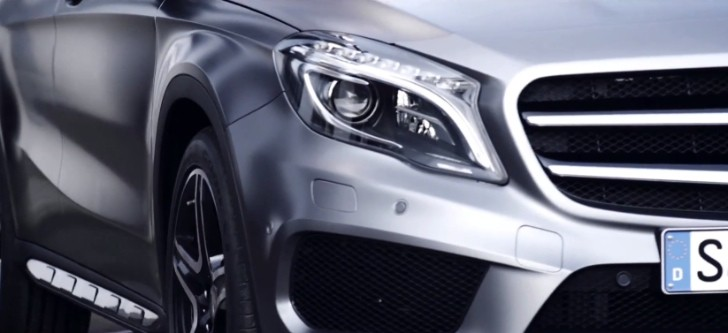 Mercedes-Benz Previews 2014 GLA Crossover [Video]