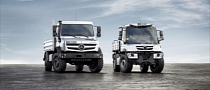 Mercedes-Benz Unwraps the New Unimog and Econic