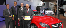 Mercedes-Benz Receives Two Euro NCAP Advanced Awards