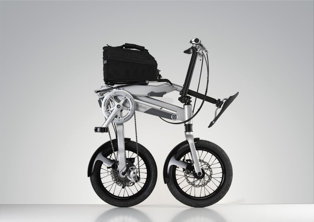 Mercedes benz released folding bike autoevolution for Mercedes benz motorcycle