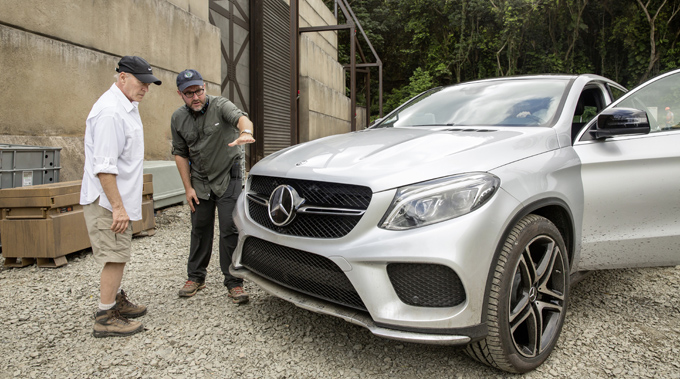 Mercedes Benz Releases Juric World Making Of Video