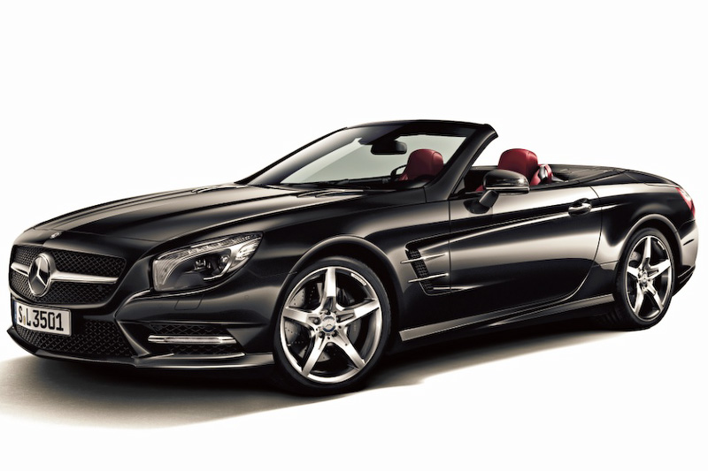 Mercedes benz releases updated sl prices for the japanese for Mercedes benz sl 350 price